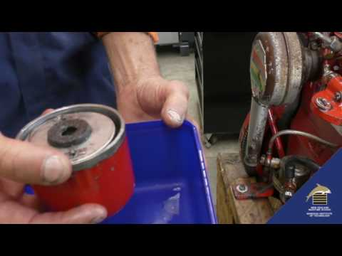 Changing Fuel Filter Canister Type