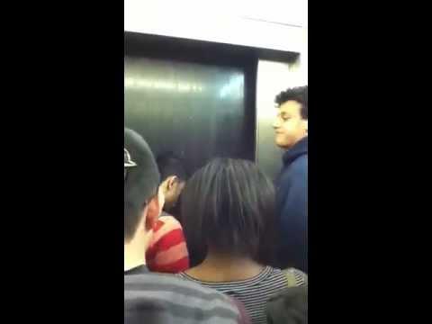 Stuck in BTHS Elevator
