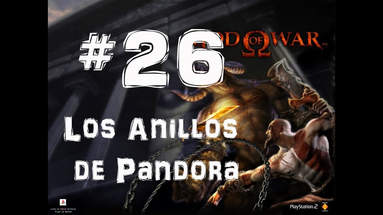 anillos de pandora god of war
