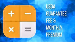 Do you know how to calculate a USDA monthly payment?
