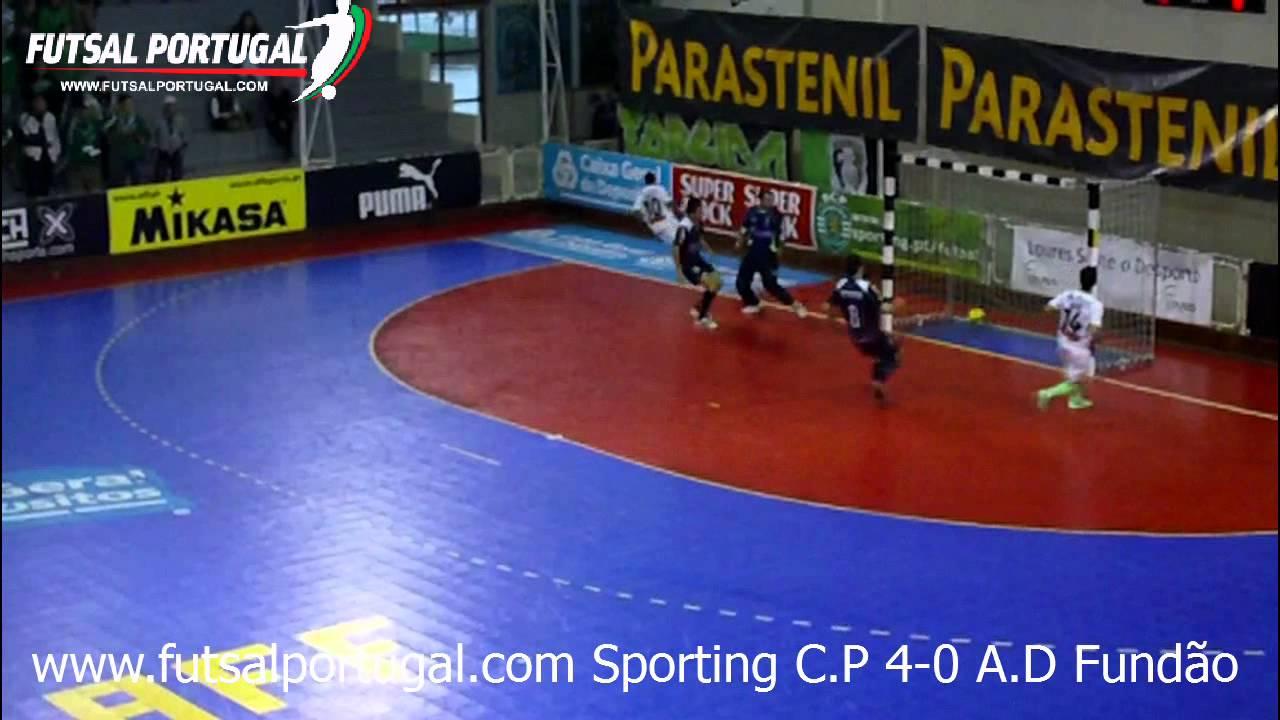 Futsal :: 15J :: Sporting - 4 x Fundão - 0 de 2011/2012