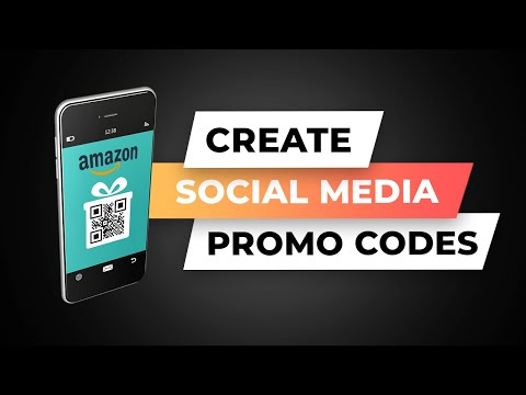 How To Create Amazon Social Media Discount Code & Group Promo Codes
