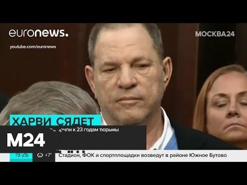 Харви Вайнштейна приговорили к 23 годам тюрьмы - Москва 24