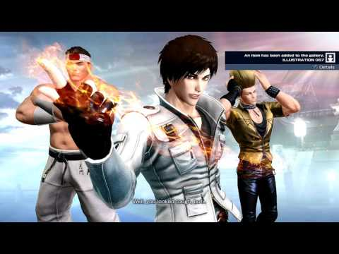 The King Of Fighters XIV (PlayStation 4) Story As Japan Team