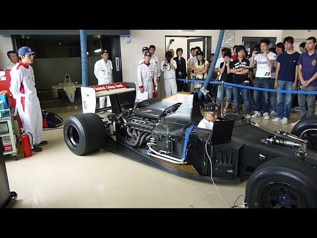 HondaF-1engine エンジン/MP4/5B Ayrton Senna地響きサウンドRA121E