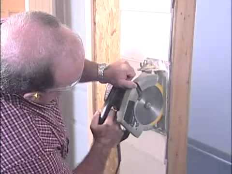 How To Install an Exterior Entry Door   The Home Depot