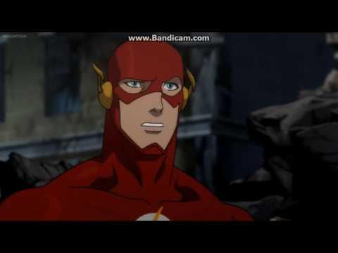Justice League War Funny Scene