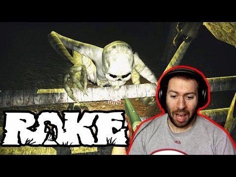 Rake Multiplayer Part 1: HE'S CLIMBIN' IN YO WINDOWS!!!!