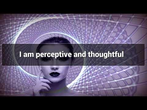 Positive Affirmations for Enhance Perception Skills - Law of attraction - Hypnosis - Subliminal