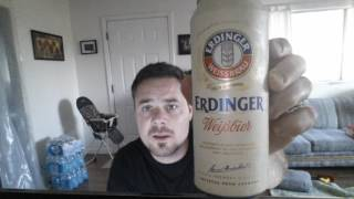 Erdinger Wiessbrau-wheat beer 5.3 ABV tasting and opinion