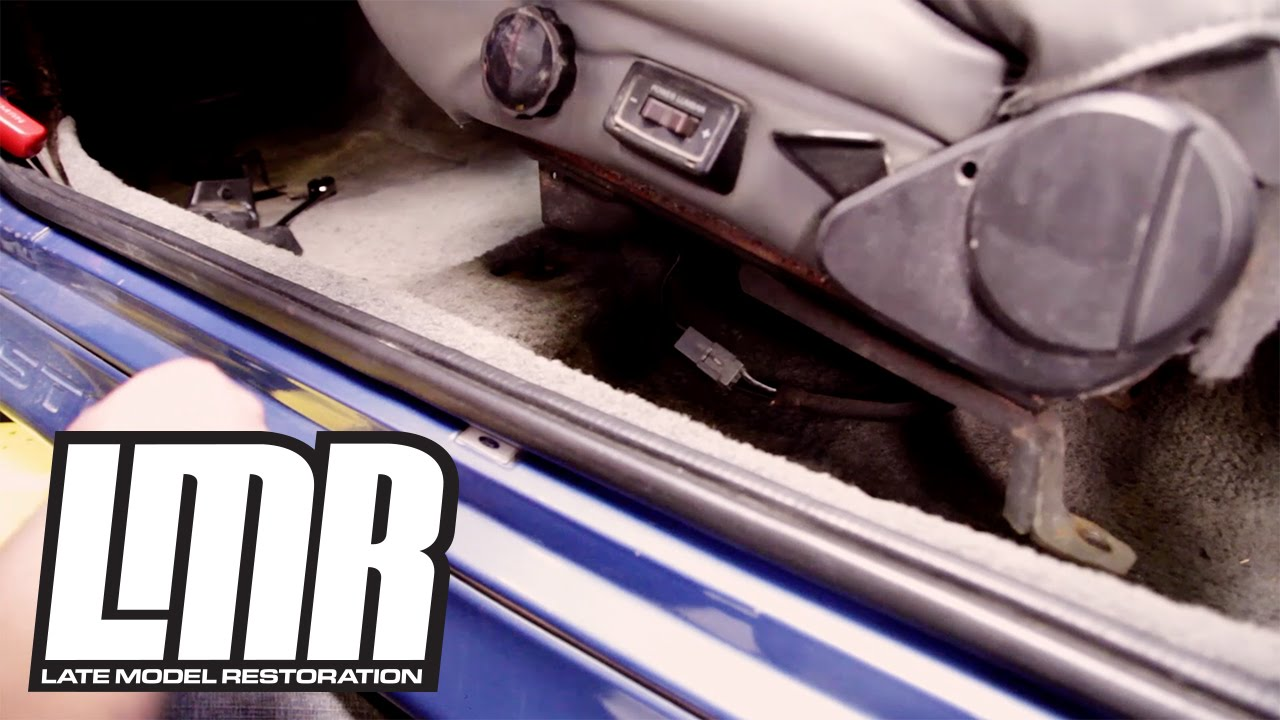 fox body mustang tech how to remove your seats youtube