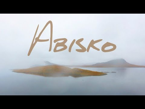 Abisko National Park Sweden in Autumn 2017, DJI Phantom 4