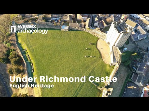 Under Richmond Castle