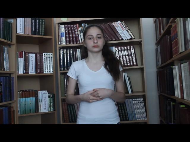 Изображение предпросмотра прочтения – АйнурМамедова читает произведение «Когда из мрака заблужденья» Н.А.Некрасова