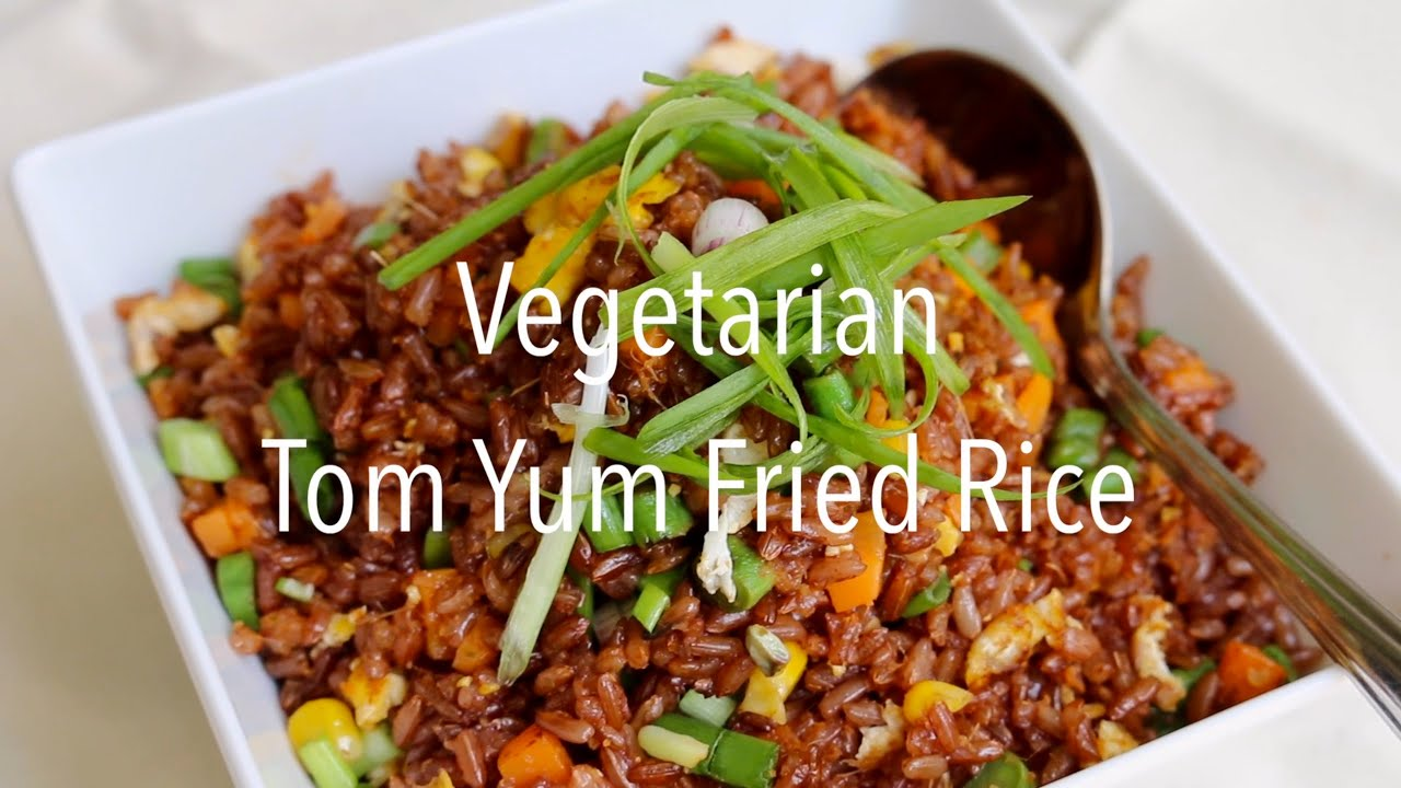 Vegetarian tom yum fried rice youtube forumfinder Images