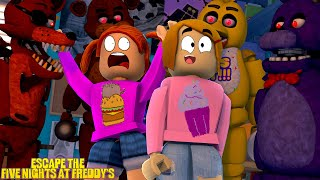Roblox Escape Five Nights At Freddy's With Molly!