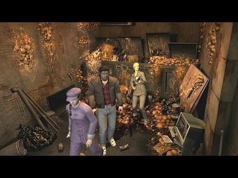 Resident Evil Outbreak File #2 ONLINE Underbelly Vent Tower Ending HD 1080p50]