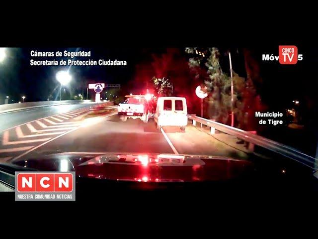 CINCO TV - Evadieron un control vehicular, portaban un arma y dieron positivo en alcoholemia