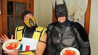 Scorpion & Batman Make Vodka Sauce! (cooking With Scorpion!)