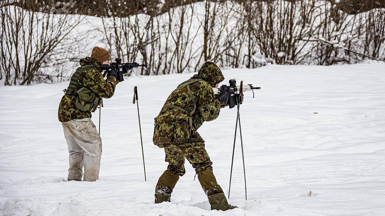 Kaitseväe Akadeemia talvise sõjapidamise laager