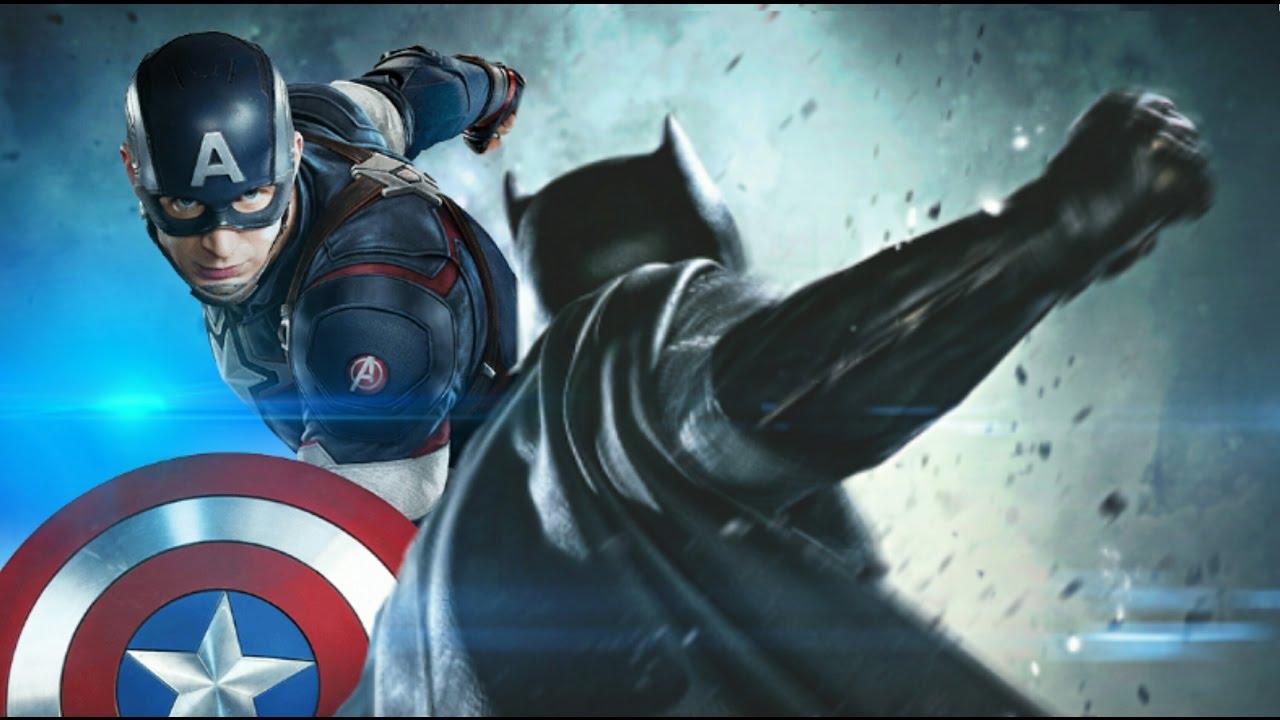 batman vs captain america epic fan trailer youtube