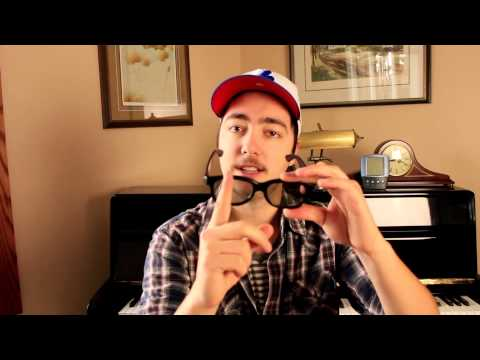 Cool 3D Glasses Tricks | Converting 3D Glasses to 2D Glasses