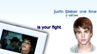 Justin Bieber - One time karaoke