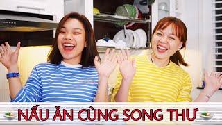 Song Thu Vlog: NẤU ĐỒ ĂN HÀN QUỐC CÙNG ANH THƯ VÀ CHỊ NHUNG