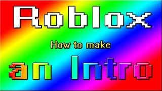 Roblox | How to make a one time Start menu(Intro)