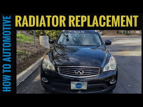 How to Replace the Radiator on a 2007-2012 Infiniti EX35