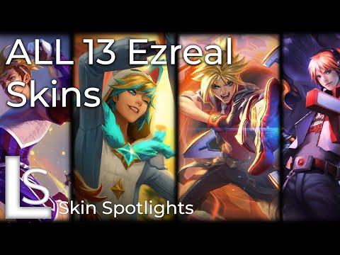 ALL EZREAL SKINS - Skins Spotlight - League of Legends