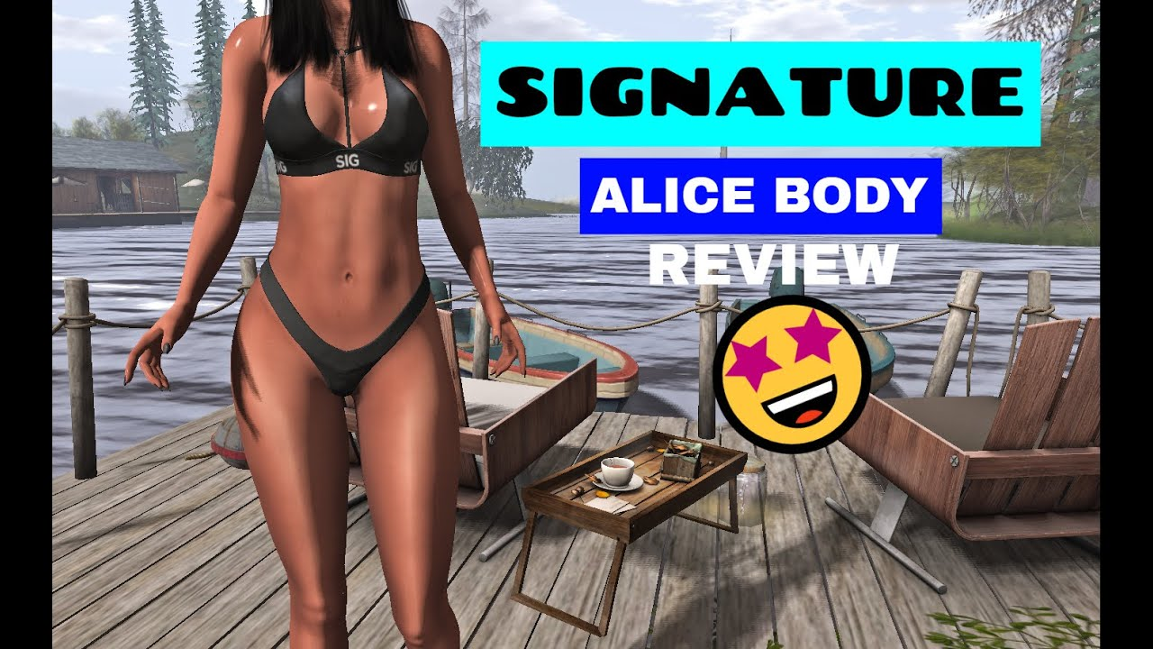 😏👙 REVIEWING SIGNATURE'S ALICE BODY 😏👙