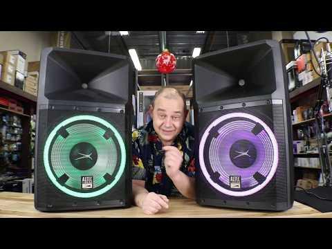 Смотрите сегодня видео новости Sound Test ALTEC LANSING LIGHTNING 15