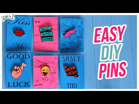Do It, Gurl: Easy DIY Pins