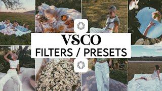 5 FREE AESTHETIC VSCO PRESETS (filters + settings) screenshot 2