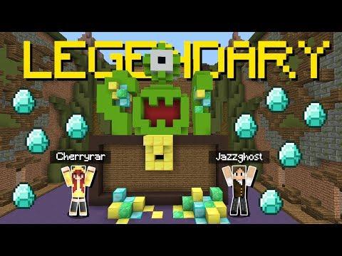 Minecraft: A PRIMEIRA CHUVA DE DIAMANTES DO BUILDÃO EM DUPLA! (BUILD BATTLE) thumbnail