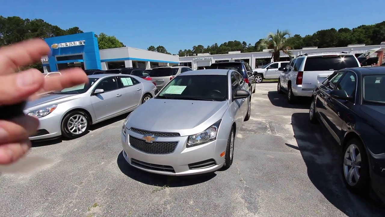 2011 chevrolet cruze lt marchant chevy used car review with condition report charleston sc