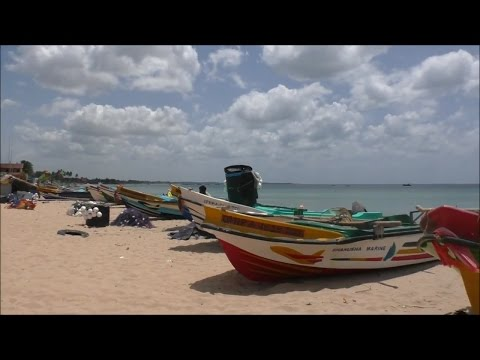 Trincomalee Beach and Town, Sri Lanka  July 2016
