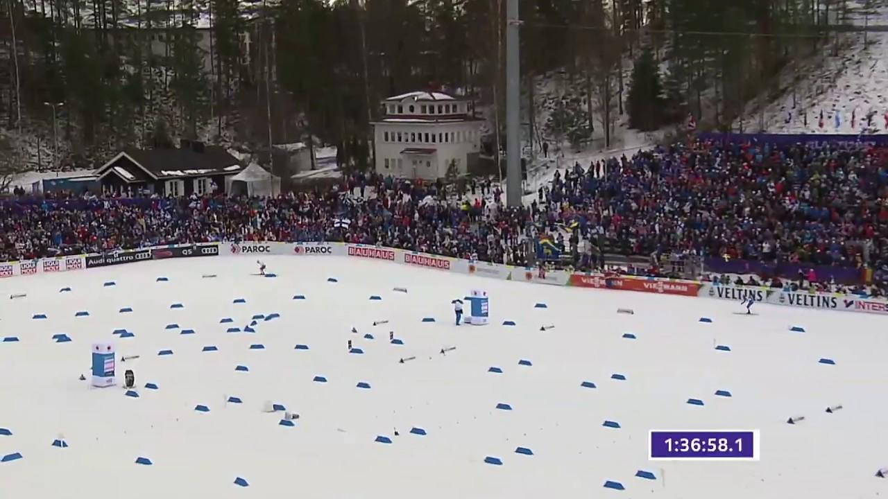 Herrar stafett vm längdskidor 2017