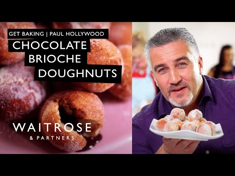 Get Baking with Paul Hollywood | Chocolate Brioche Doughnuts | Waitrose
