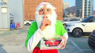 História do presente de Natal de Boram