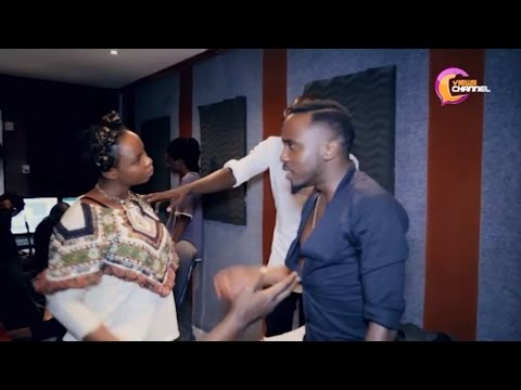 Yemi Alade And Sauti Sol In The Studio Cooking Another Hot Jam