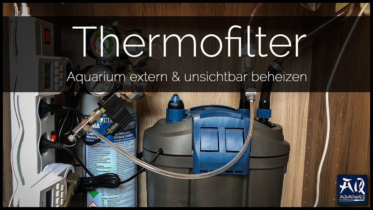 Heizen ohne heizstab im aquarium thermofilter for Aquarium heizen