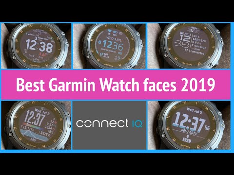 Best Garmin Watch Faces From Connect IQ 2019 Edition - For Fenix 6 Fenix 5, Forerunner, Vivoactive 3