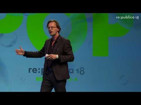 re:publica 2018 – Bernhard Pörksen: Filter Clash. Die große Gereiztheit der vernetzten Welt