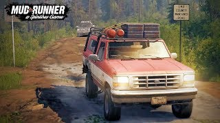 Spin Tires Mudrunner - MP 7 - Ford vs Chevy