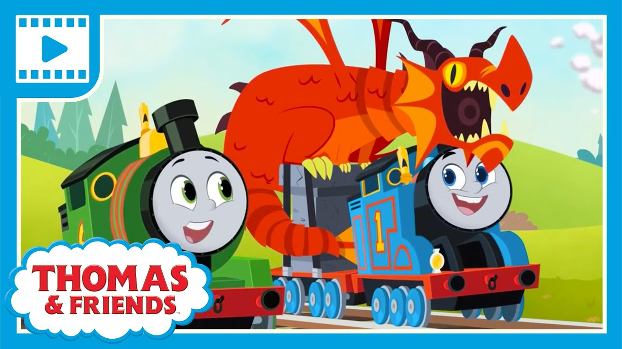 Thomas & Friends™ All Engines Go - James and the Dragon   Cartoons and Kids Videos