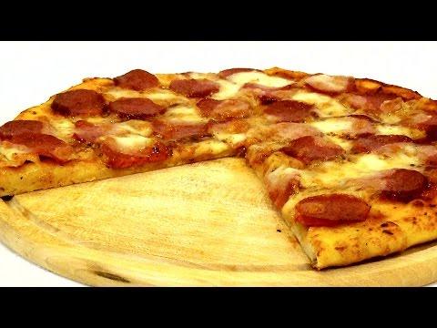 Пицца в домашних условиях. Простой и вкусный рецепт.