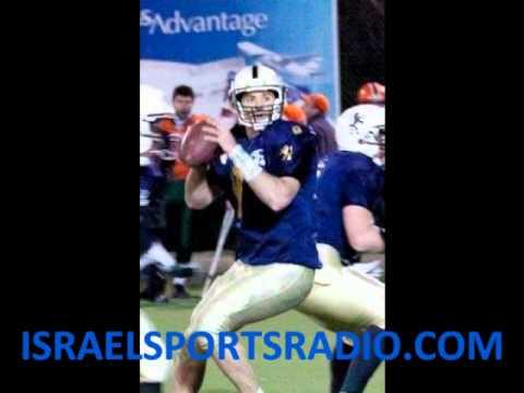 Tel-Aviv Pioneers QB Itay Ashkenazi Joins Ari Louis on Louis Live on IsraelSportsRadio (Part 2)