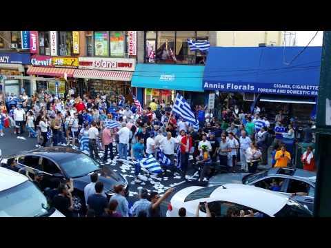 Greece 2 - ivory 1  World Cup! Crazy, Astoria N.Y